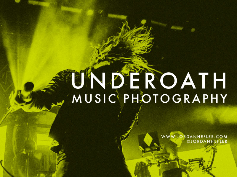 Underoath in New Orleans | Music Photography | Jordan Hefler