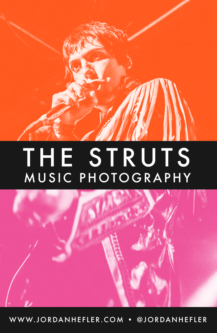The Struts | Music Photography in New Orleans, Louisiana | Jordan Hefler