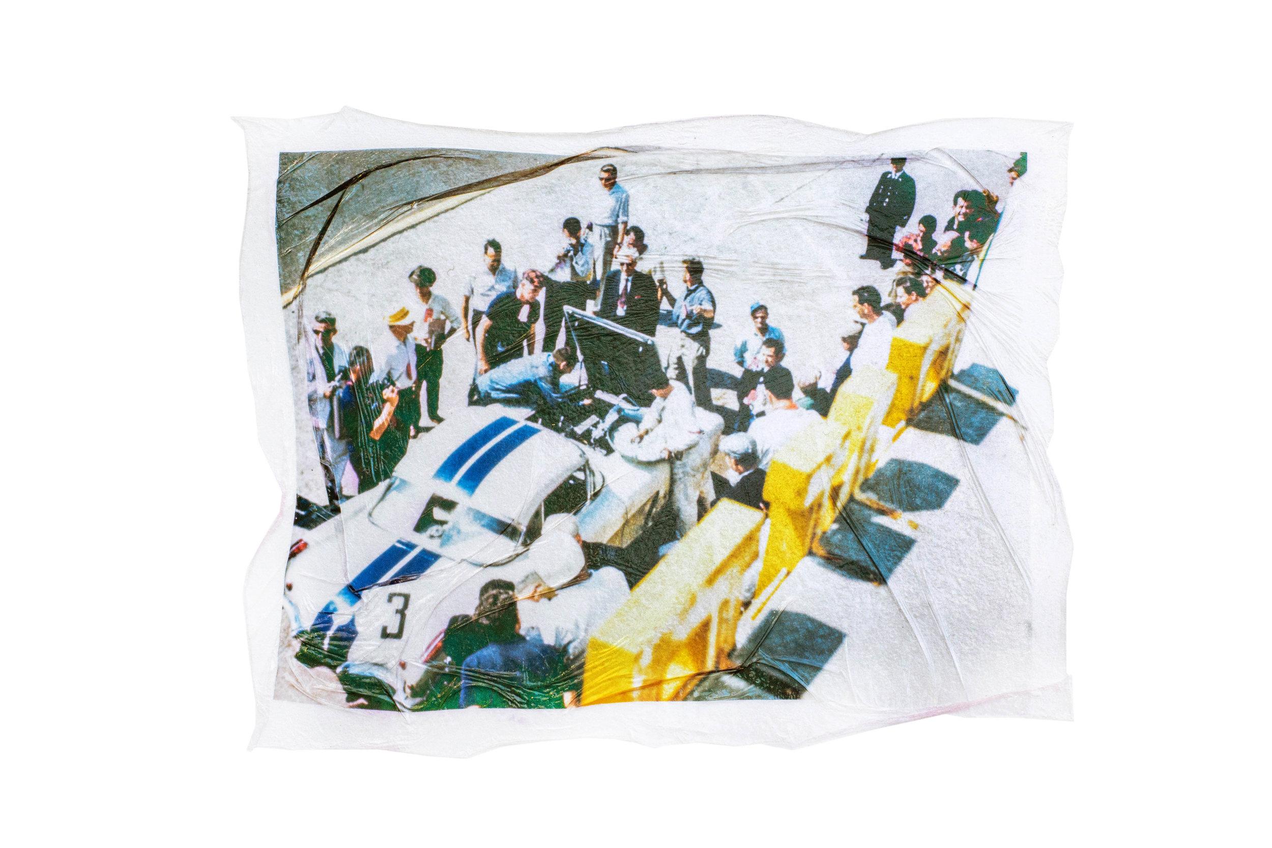 LE MANS  remainder / reminder  Jordan Hefler  Kodachrome Slide 1960 / Fujifilm Emulsion Lift 2014