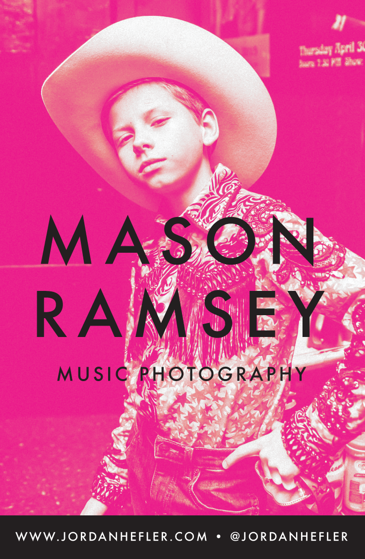 Mason Ramsey | Music Photographer, Jordan Hefler