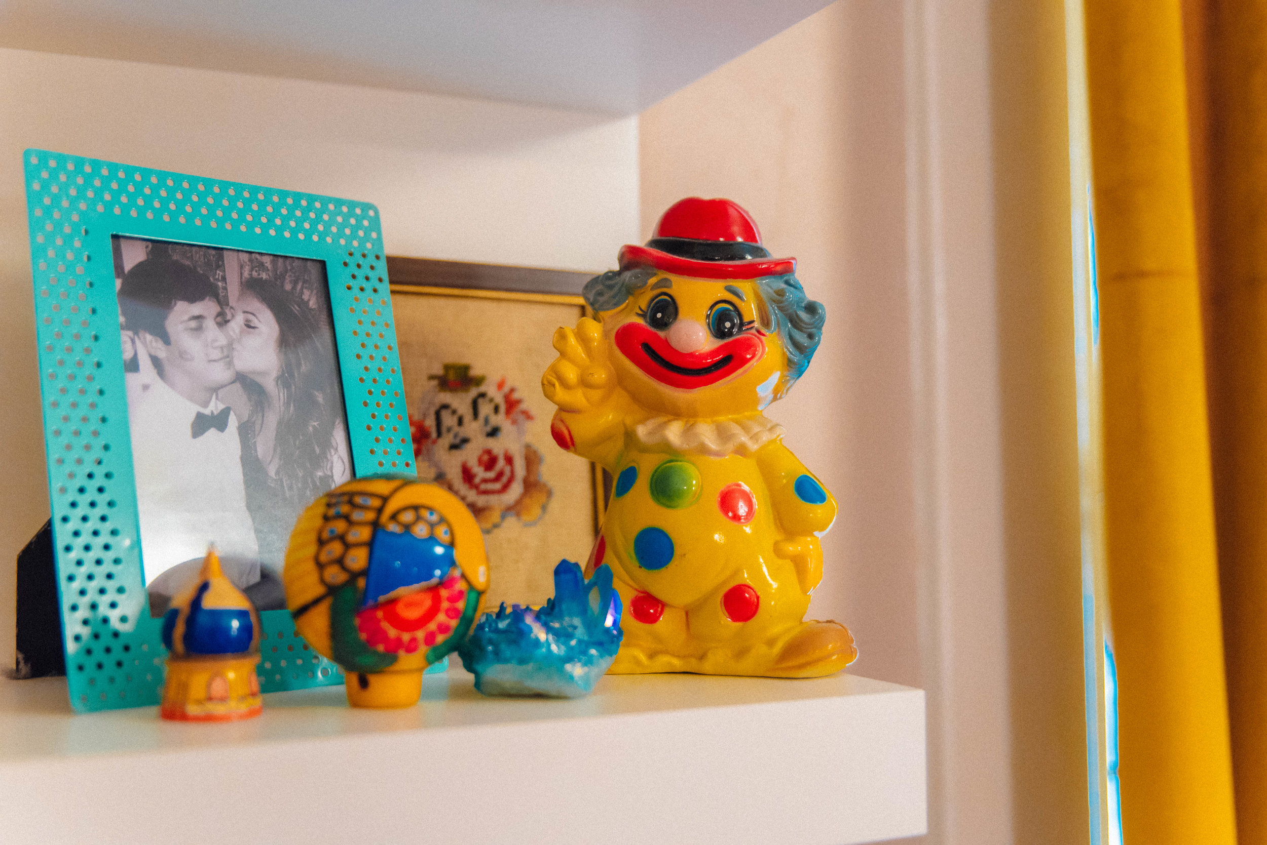 Jordan Hefler's clown collection