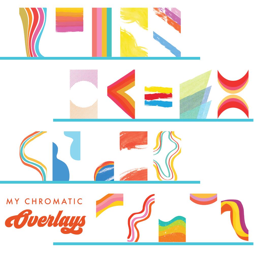 My Chromatic Overlays- Make Groovy Instagram Photos! by Jordan Hefler