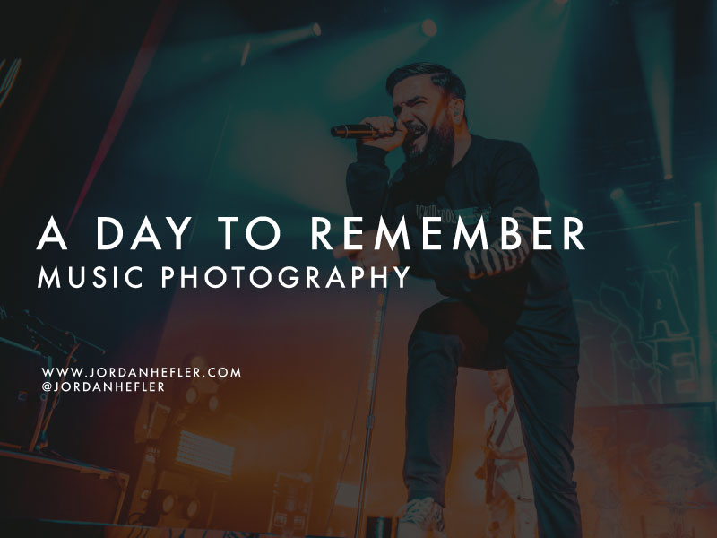 A Day to Remember | New Orleans Concert | Music Photography by Jordan Hefler