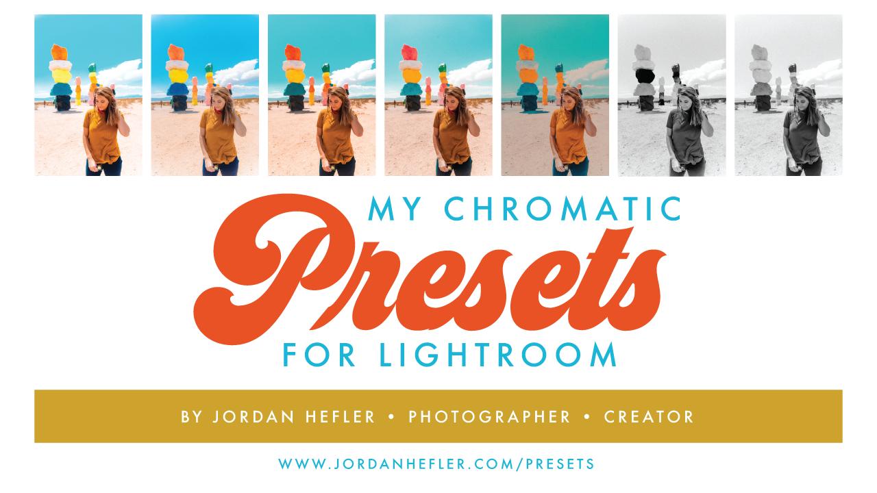 My Chromatic Presets | Retro Lightroom Presets by Jordan Hefler