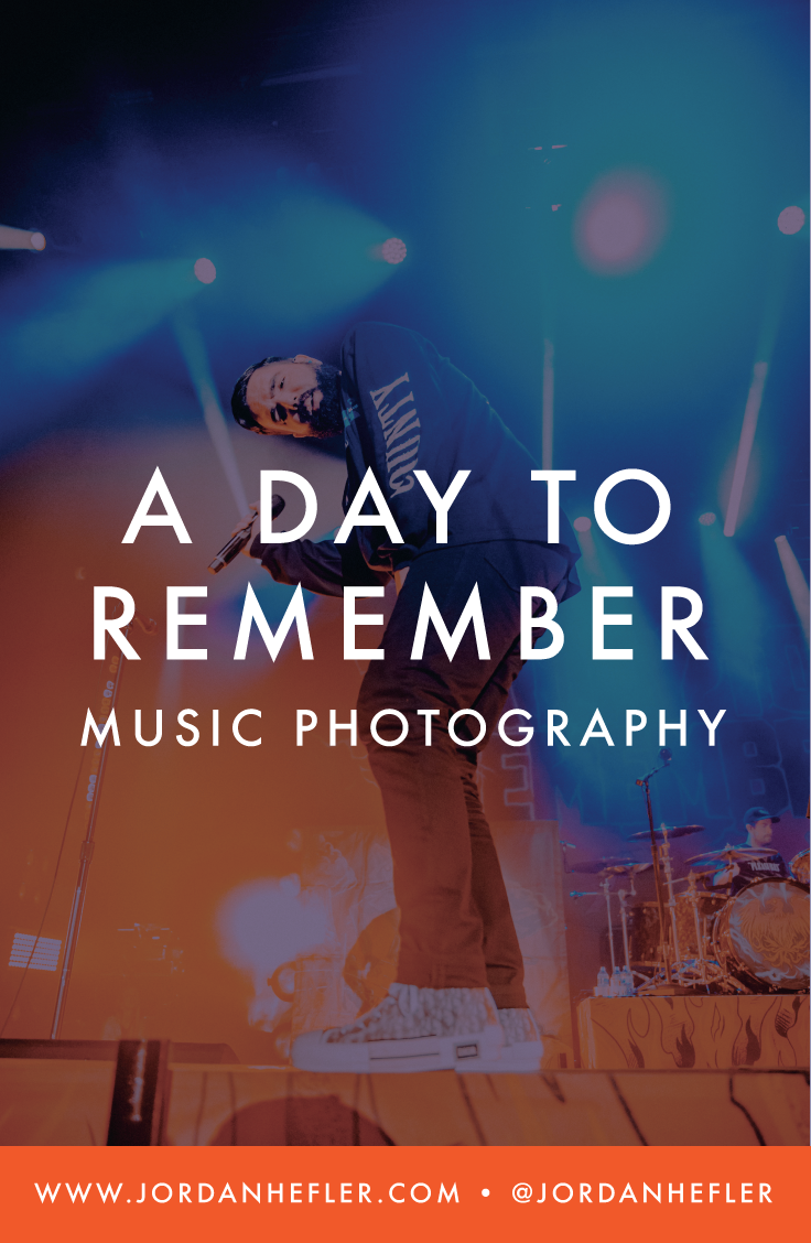 A Day to Remember | Music Photographer in Louisiana | Jordan Hefler
