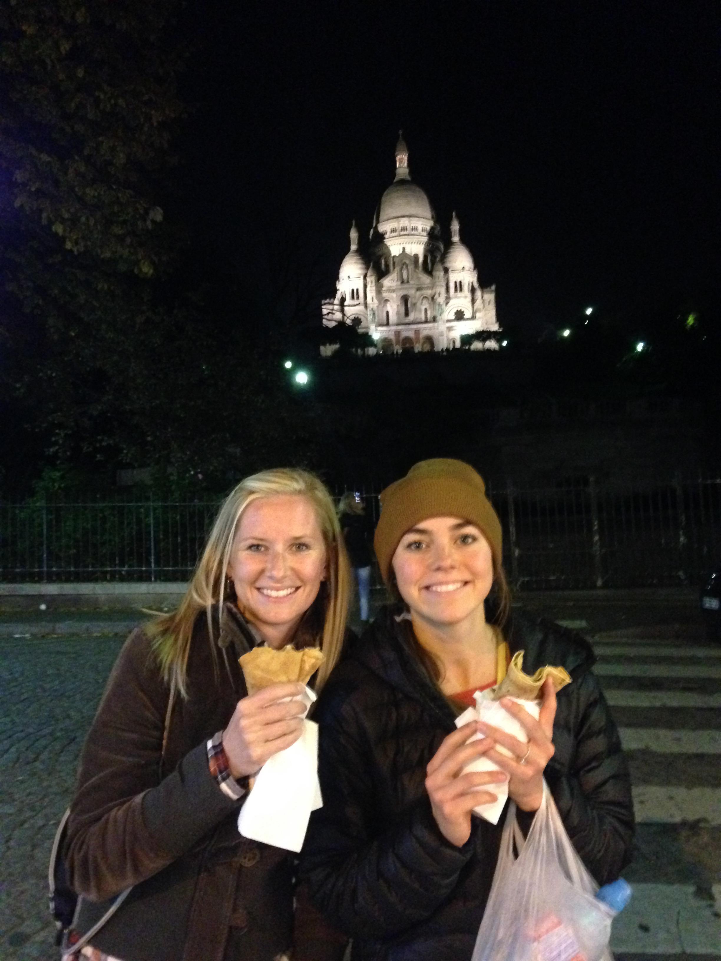 nutella crepe in Paris..... totally worth it