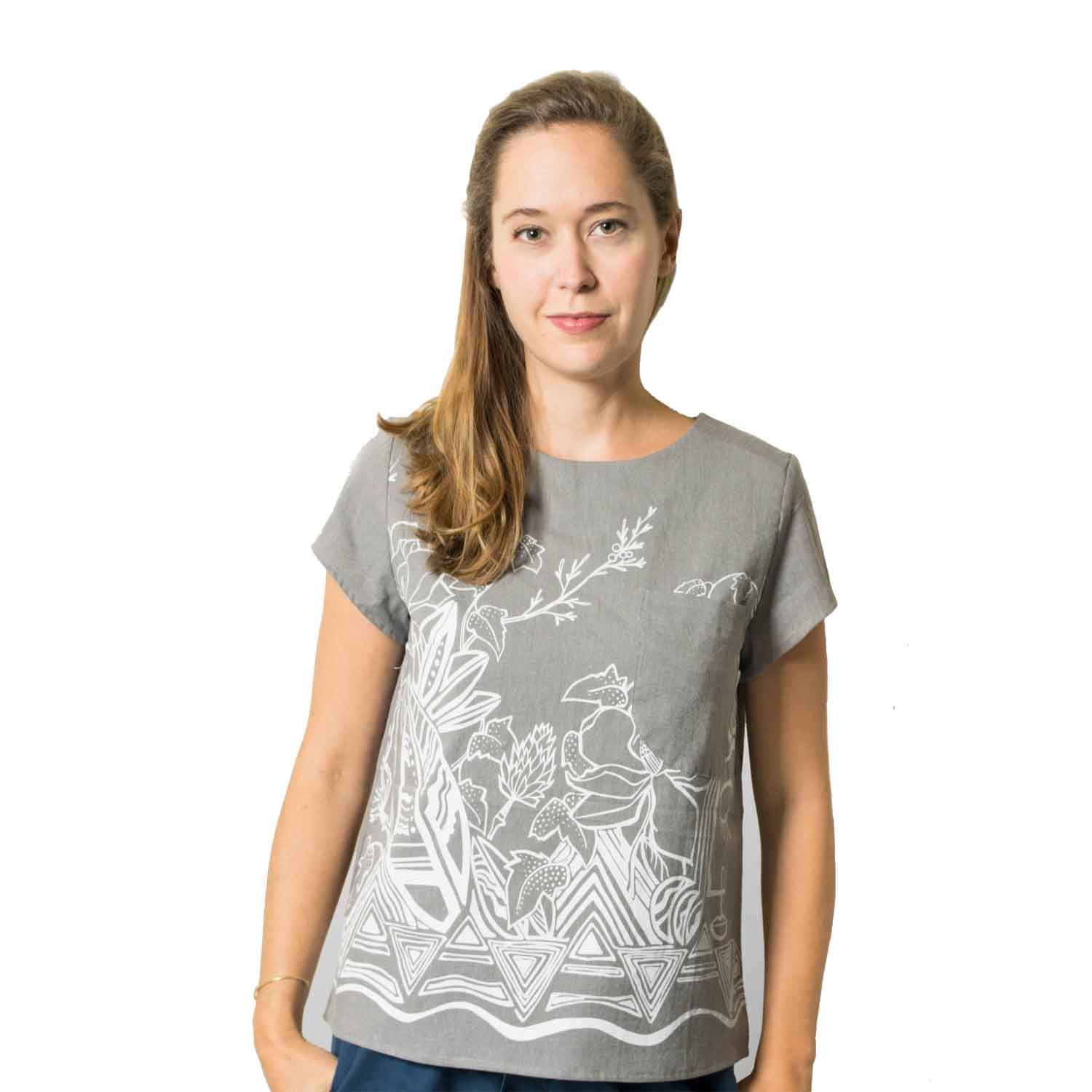 Grace Top ,  Pamut Apparel  $86  *use code  Sustainablychic15  for 15% off*