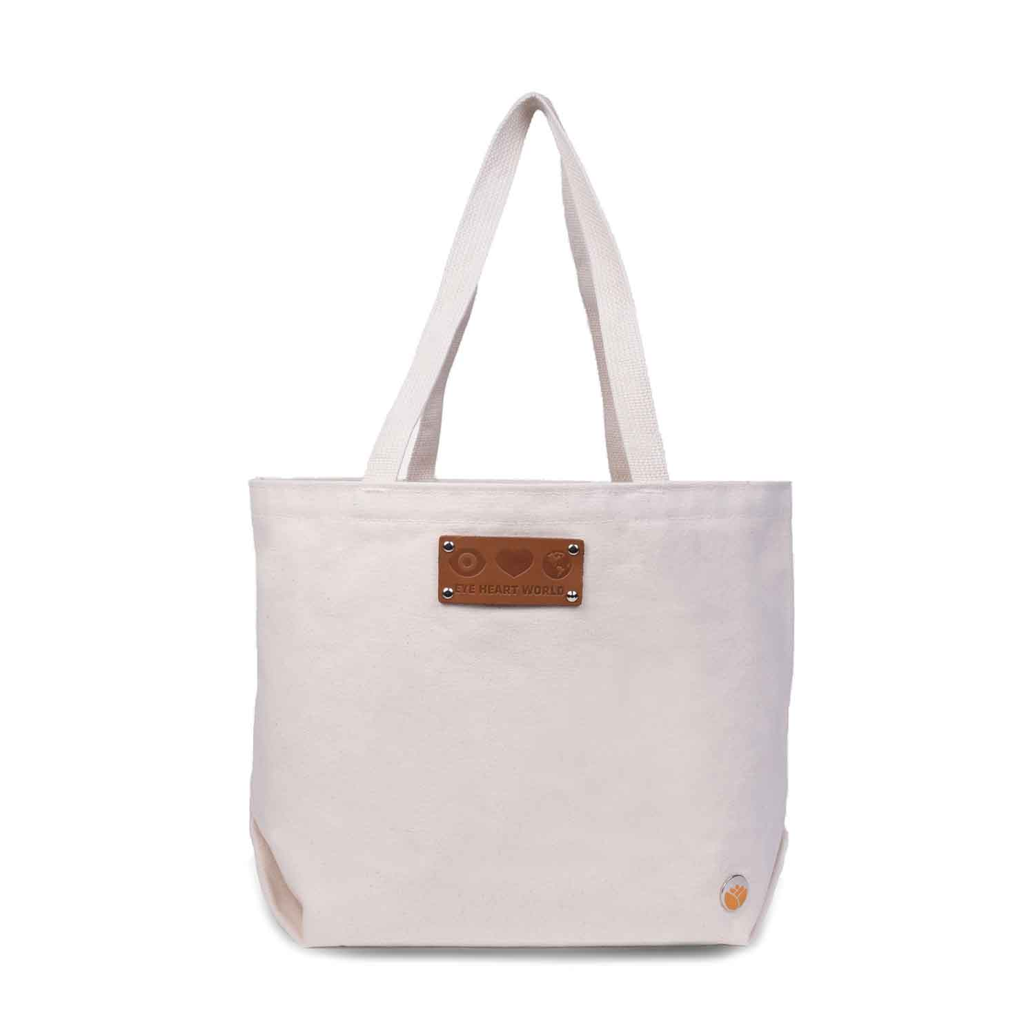 Harriet Tote ,  Eye Heart World  $38  *use code  Chic20  for 20% off*