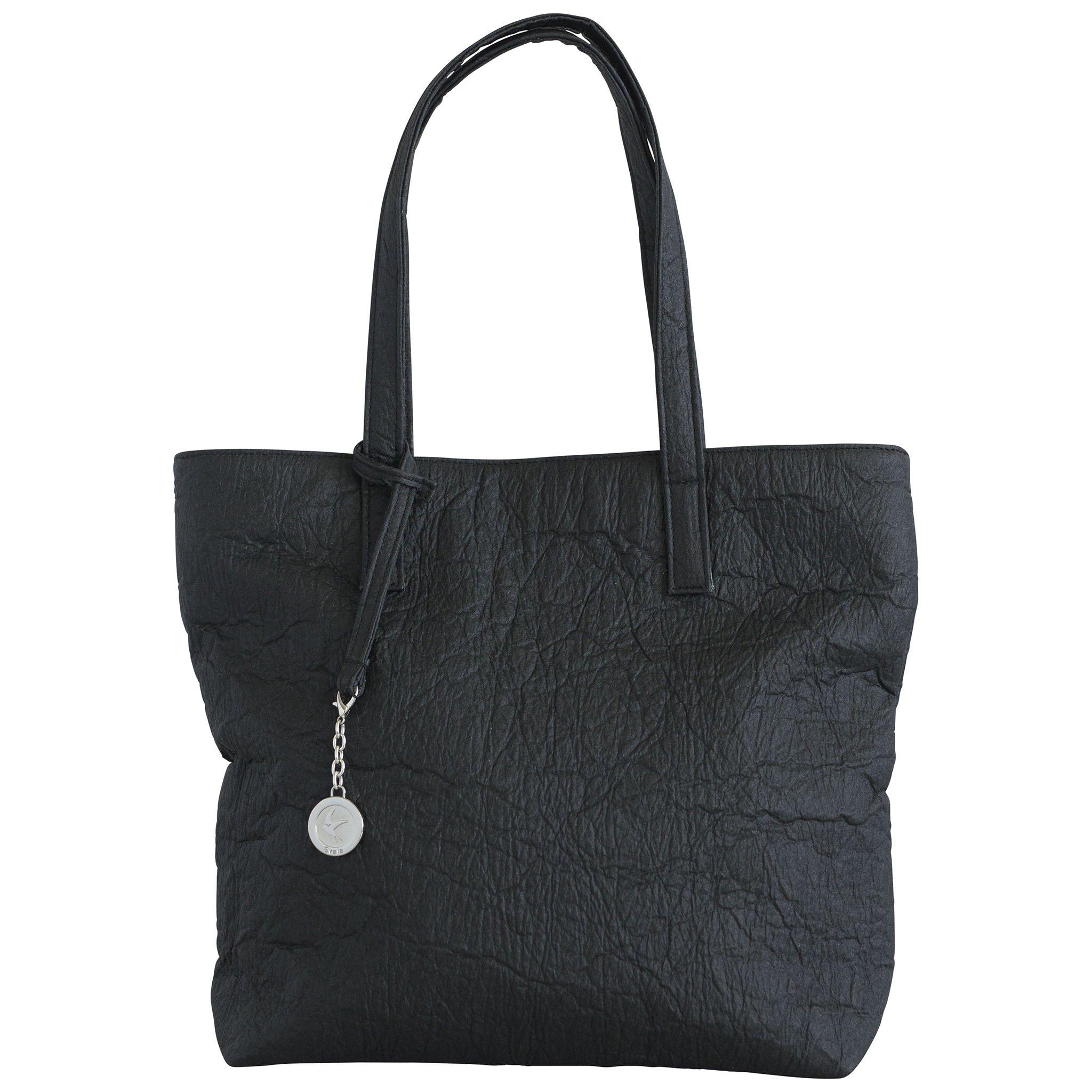 Simma Tote - Black Piñatex®  ,   Svala  $295