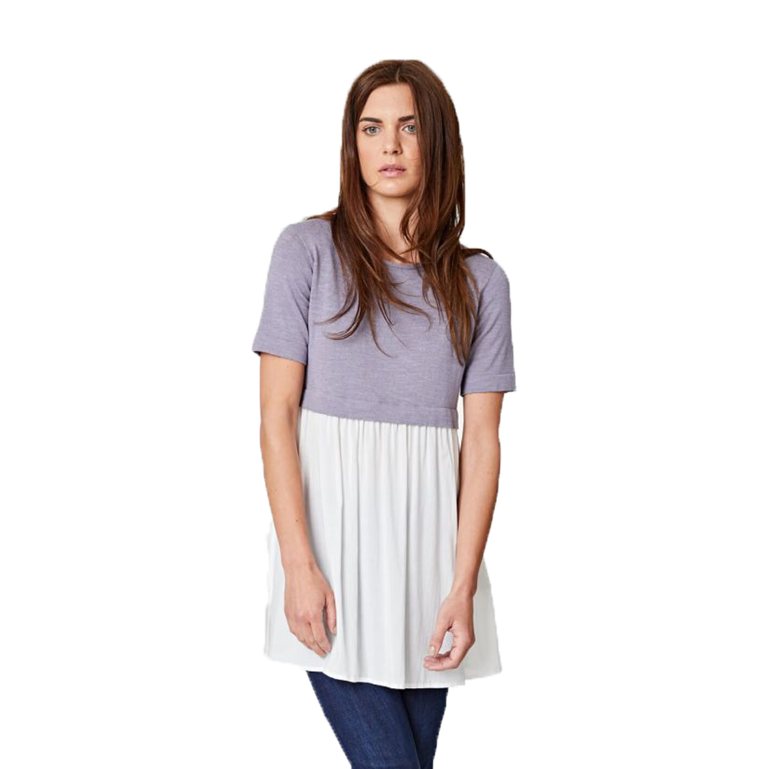 Morgana Layered Cropped Jumper ,  Thought Clothing  $98