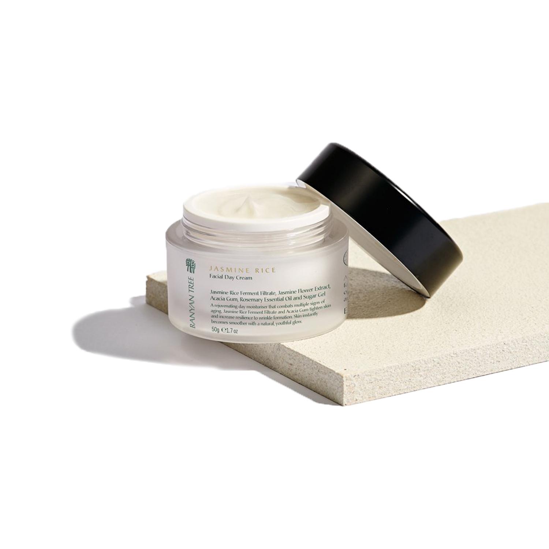 Jasmine Rice Day Cream ,  Banyan Tree Essentials  $44