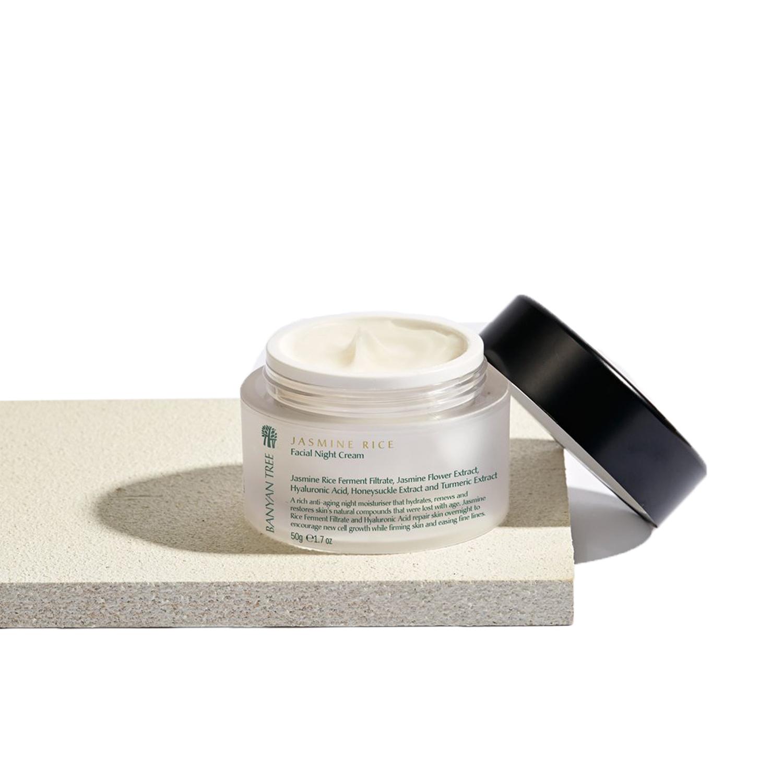 Jasmine Rice Night Cream ,  Banyan Tree Essentials  $50