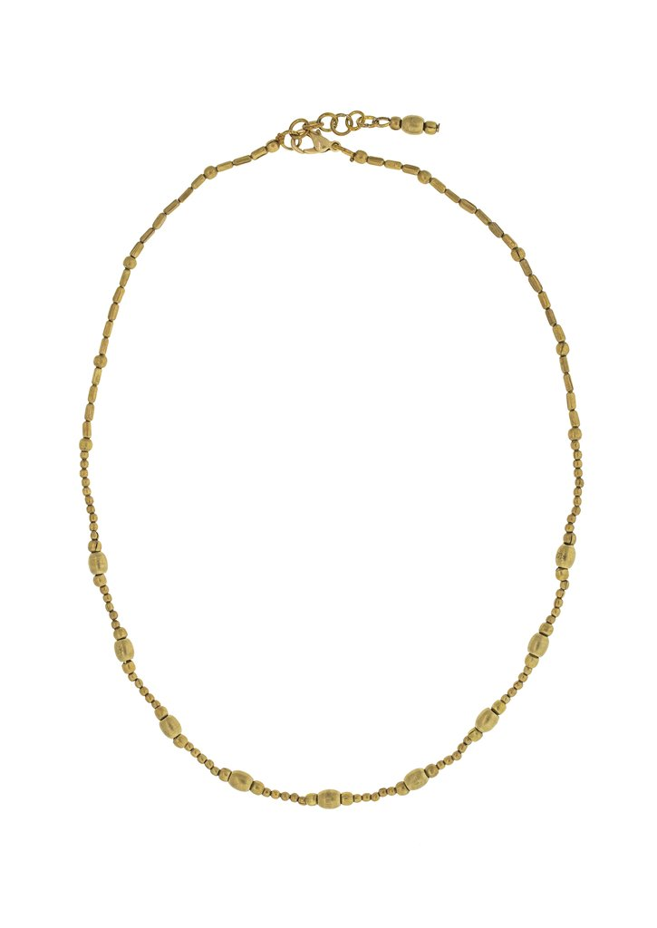 The Cali Necklace in Brass