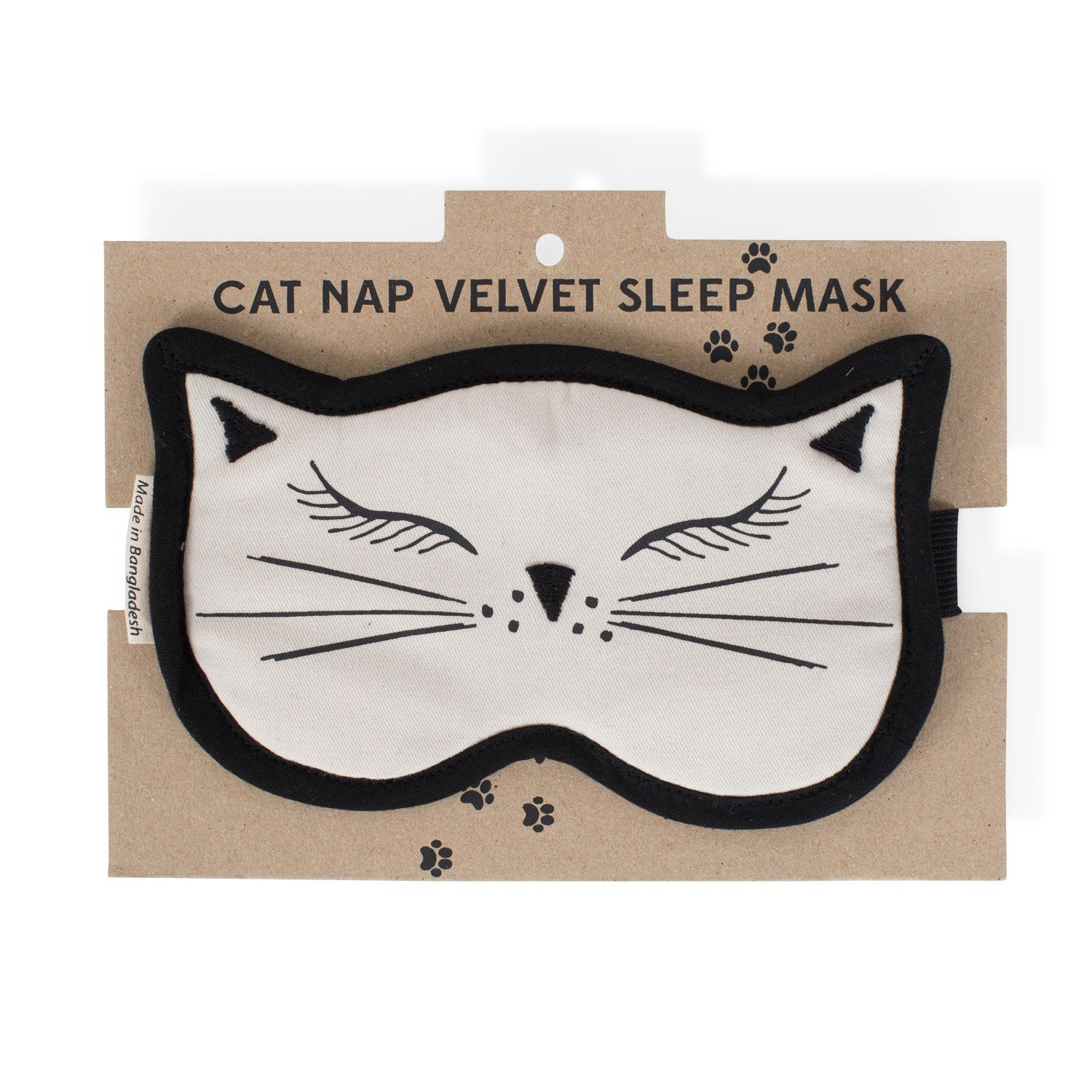 Cat Nap Velvet Sleep Mask