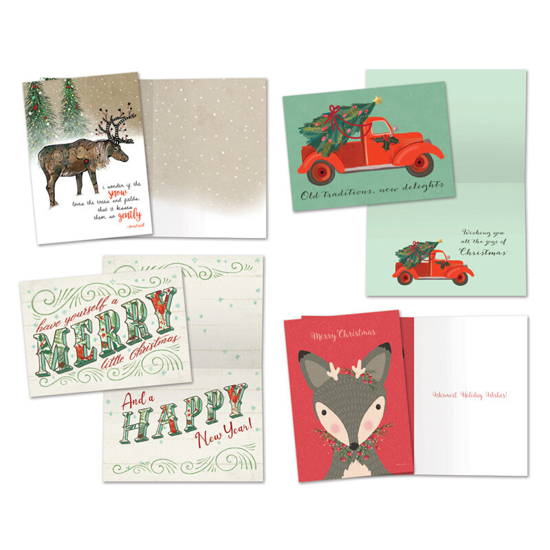 eco friendly recycled holiday cards