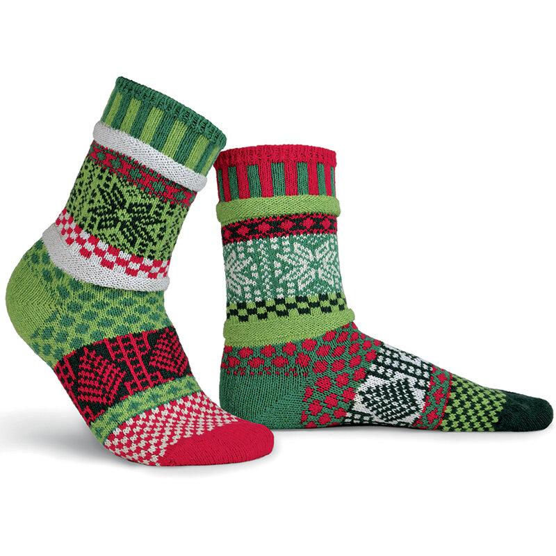 eco friendly christmas socks
