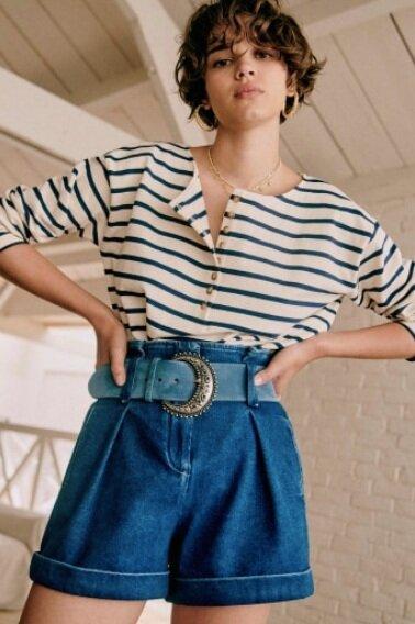 Sustainably Chic | Sustainable Fashion Blog | The Best Sustainable Shorts | Sezane.png
