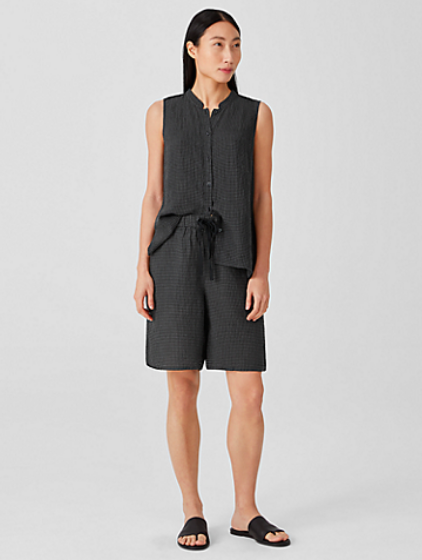 Sustainably Chic | Sustainable Fashion Blog | The Best Sustainable Shorts | Eileen Fisher.png