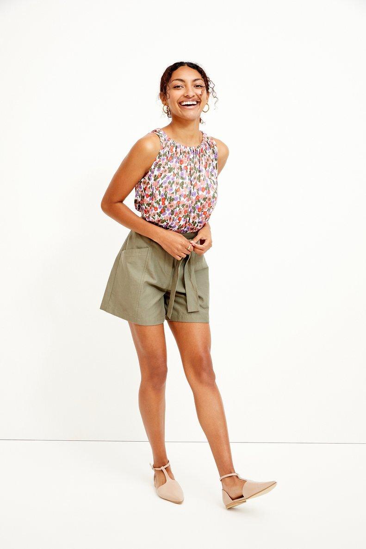 Sustainably Chic | Sustainable Fashion Blog | Best Sustainable Shorts | Amour Vert.jpg