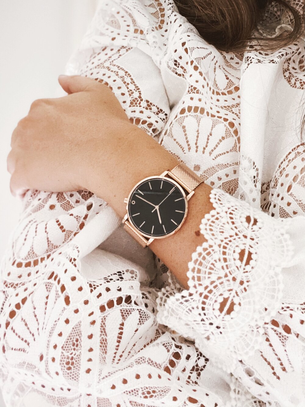 Sustainably Chic _ Sustainable Fashion Blog _ Sustainable Watches by 2 Degrees East _ Zero Waste Rose Gold Strap.jpg