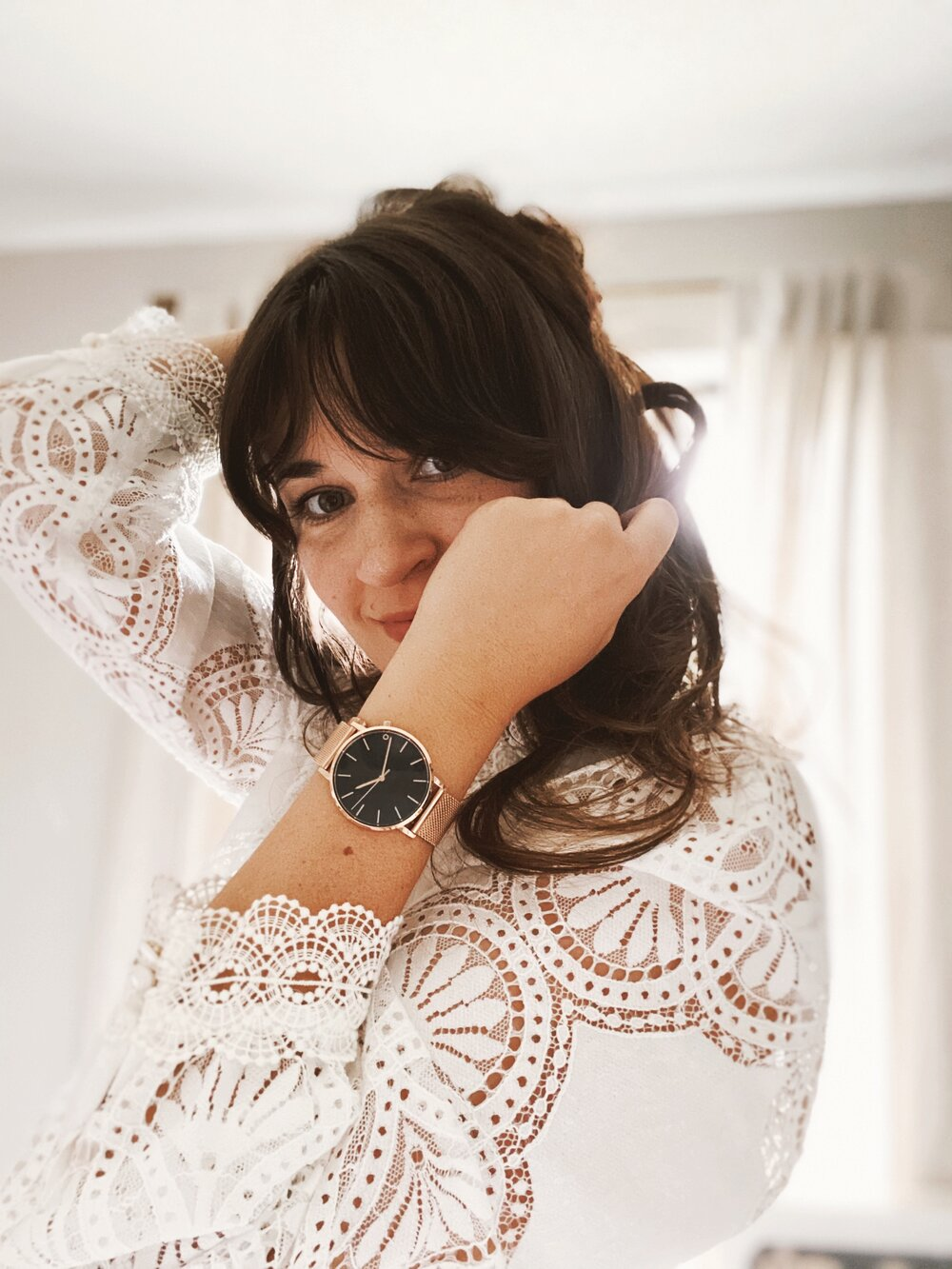 Sustainably Chic _ Sustainable Fashion Blog _ Sustainable Watches by 2 Degrees East _ Rose Gold Strap.jpg