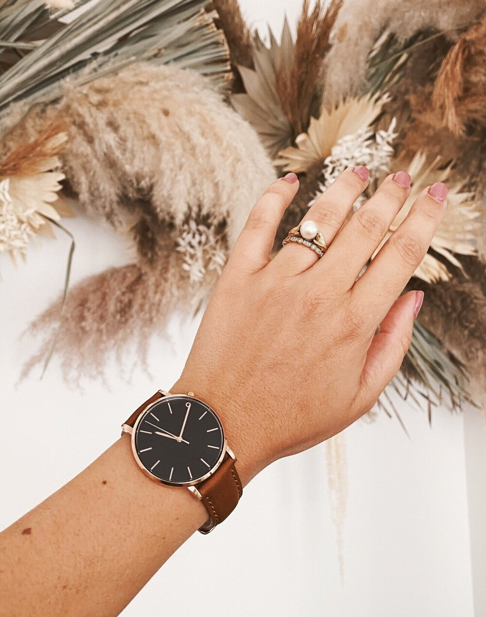 Sustainably Chic _ Sustainable Fashion Blog _ Sustainable Watched by 2 Degrees East _ Veggie-Tanned Leather Strap.jpg