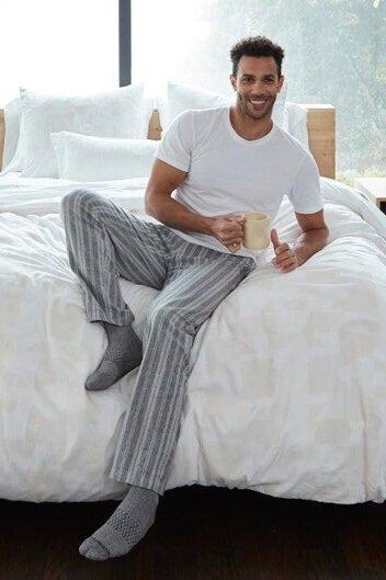 Sustainably Chic | Best Sustainable Fashion Blogs | Sustainable Eco Friendly Ethical Affordable Gifts for Men Husband Brother Dad Partner | Coyuchi Organic Pajamas.jpeg