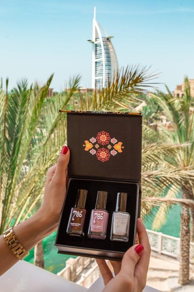 Sustainably Chic | Best Sustainable Fashion Blogs | Sustainable Eco Friendly Ethical Gifts for Vegans | 786 Cosmetics Nail Polish.jpeg