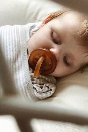 Sustainably Chic | Sustainable Fashion & Lifestyle Blog | The Best Sustainable Baby Gifts | Natural Pacifier.jpeg