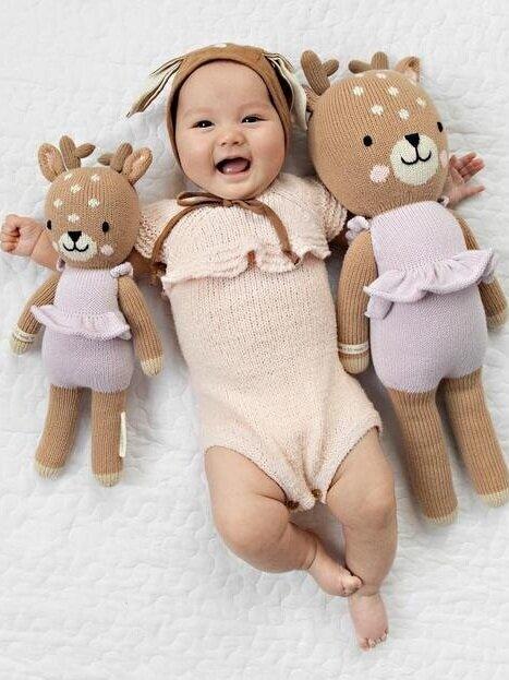 Sustainably Chic | Sustainable Fashion & Lifestyle Blog | The Best Sustainable Baby Gifts | Cuddle & Kind.jpg