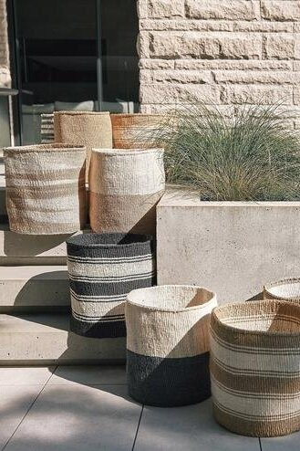 Sustainably Chic | Sustainable Fashion & Living Blog | Best Gifts for Plant Lovers | Sisal Baskets from Obakki.jpg