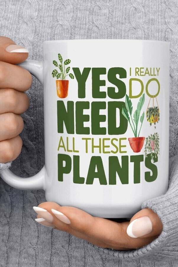 Sustainably Chic | Sustainable Fashion & Lifestyle Blog | Best Gifts for Plant Lovers | I need These Plants Coffee Mug from Etsy.jpg