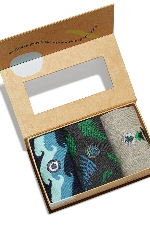 Sustainably Chic | Sustainable Fashion & Lifestyle Blog | The Best Gifts for Environmentalists | Organic Cotton Socks that Protect the Planet from Conscious Step.jpg