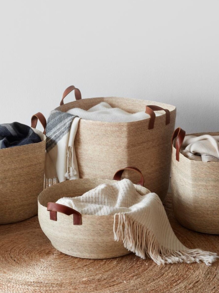 Sustainably Chic | Sustainable Fashion & Lifestyle Blog | The Best Sustainable Baskets for Eco-Friendly Storage | The Citizenry.png