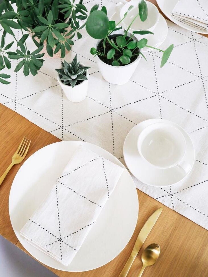 Sustainably Chic | Sustainable Fashion & Lifestyle Blog | The Best Sustainable Reusable Cloth Napkins | Made Trade.jpg