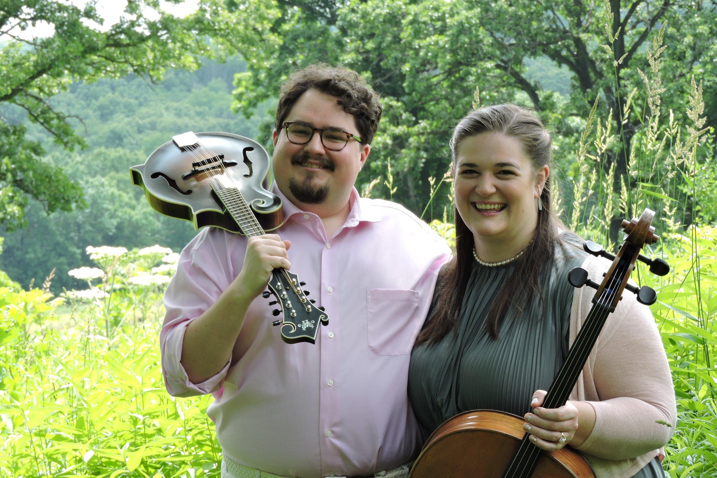Taylor Ackley, banjo/vocals  Alison Rowe, cello/vocals