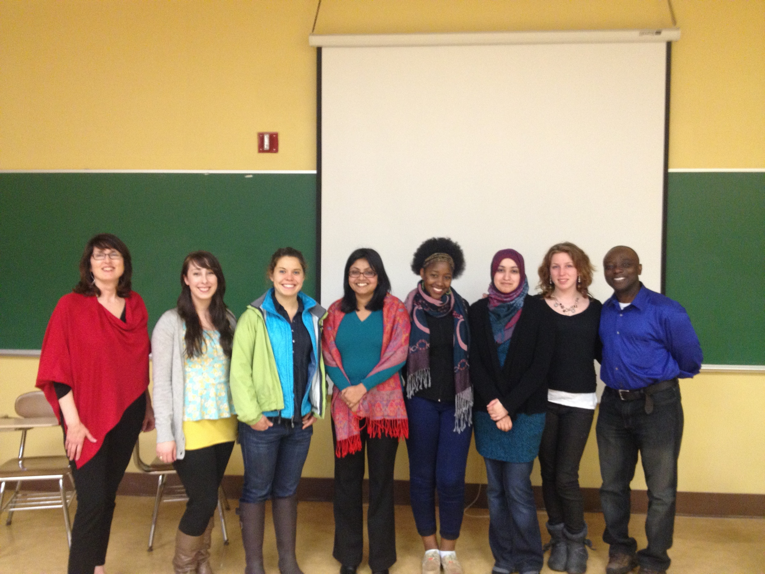 The Everyday Peace Group at the Open Peace Forum following Boston marathon Bombings - April 2013