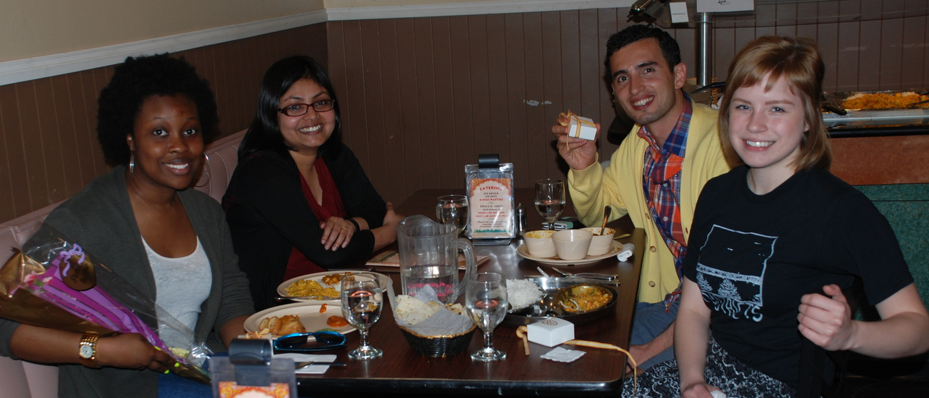 End of the year Lab Lunch, 2014
