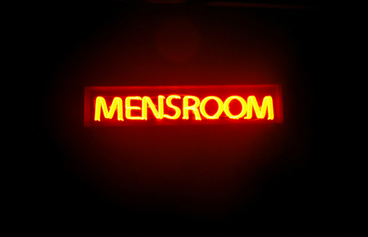 """MENSROOM"", New York City 2002"