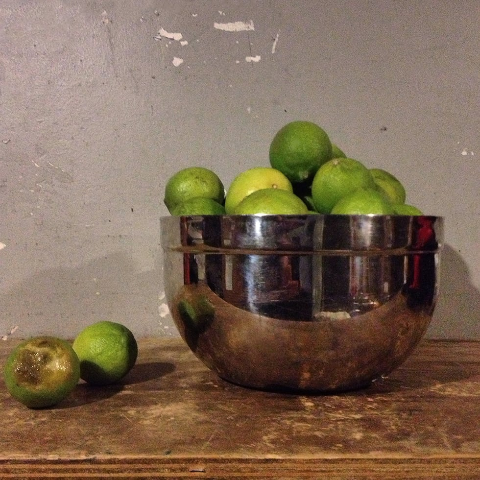 """""""Bowl with Limes"""", 2012"""