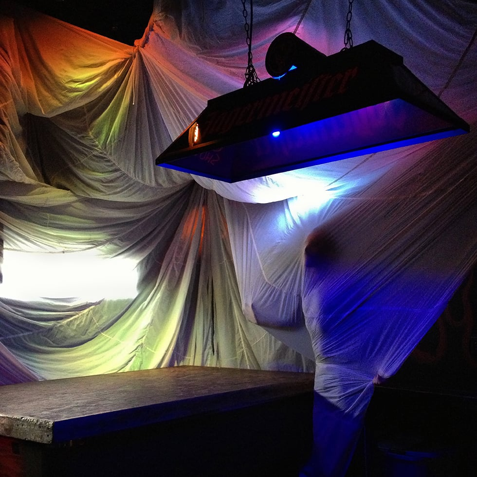 """""""Parachutes"""", Self-portrait, 2012"""