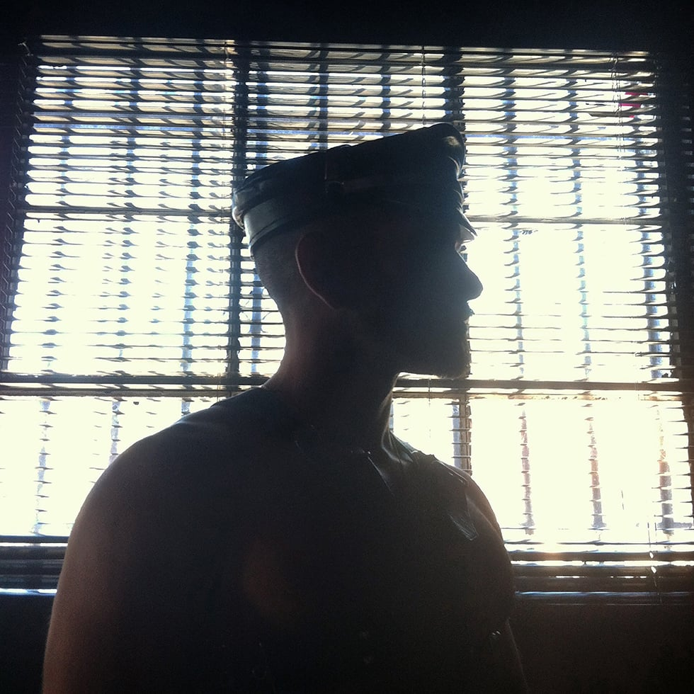 """""""Silhouette of a Leatherman"""", 2012"""