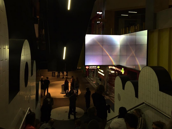 installation view, Melbourne Central Art Loop, 2016