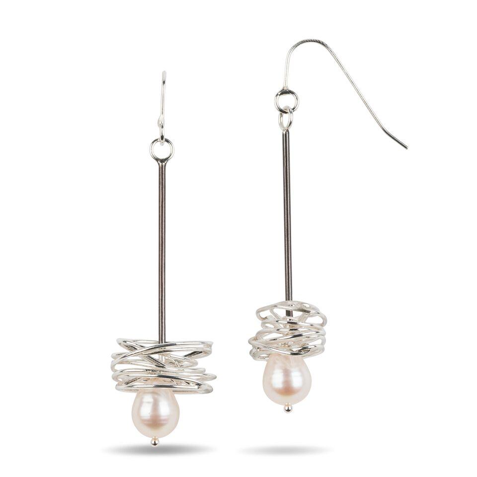 Pearl in a Nest Earrings.jpeg