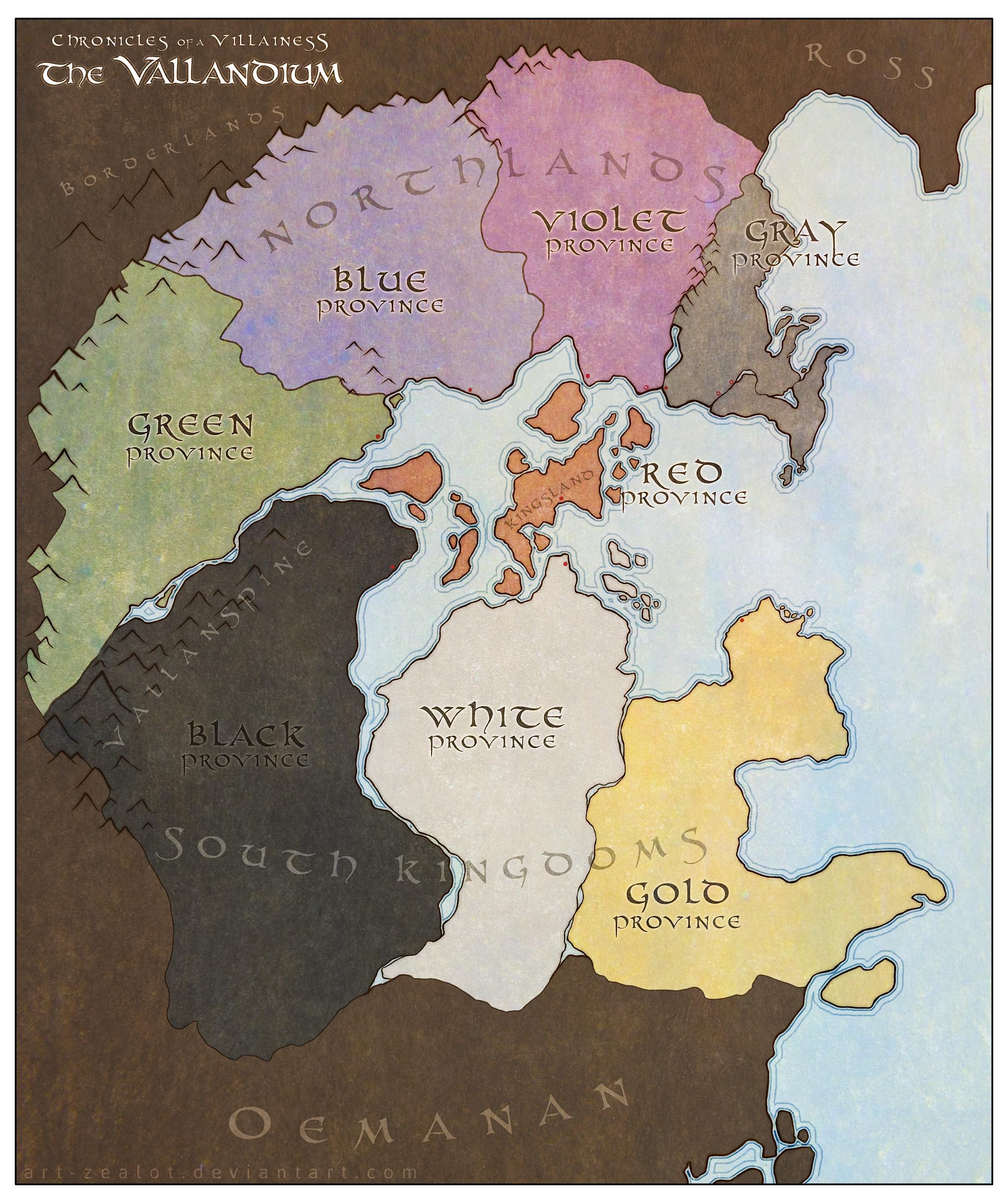 Vallandium Map