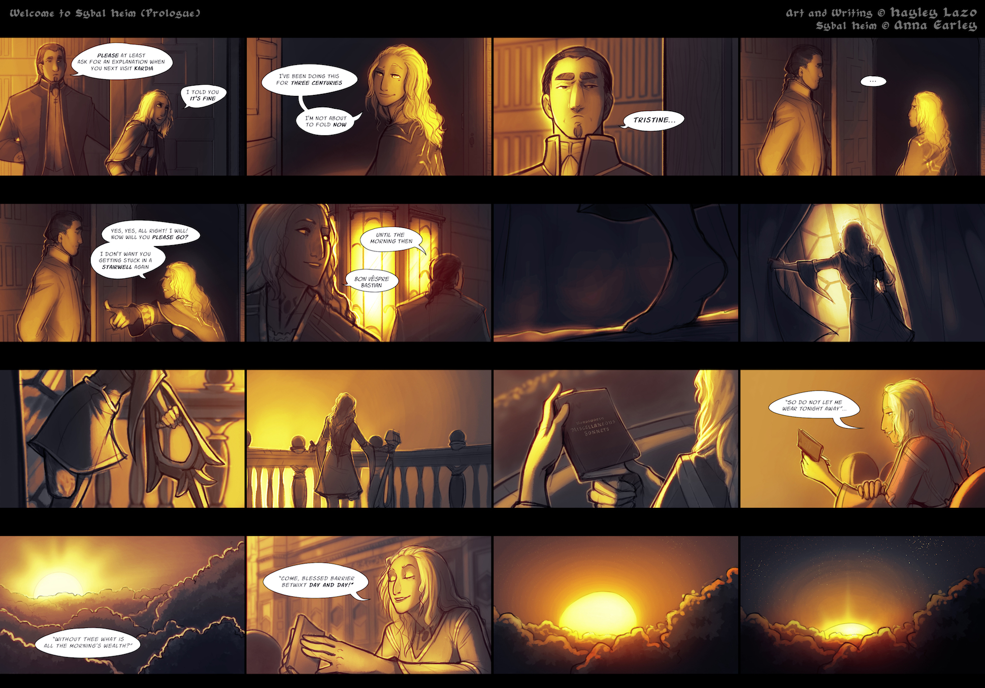 An introduction to the plot/setting of  Sybal Heim. You can find the flash comic itself  Here.