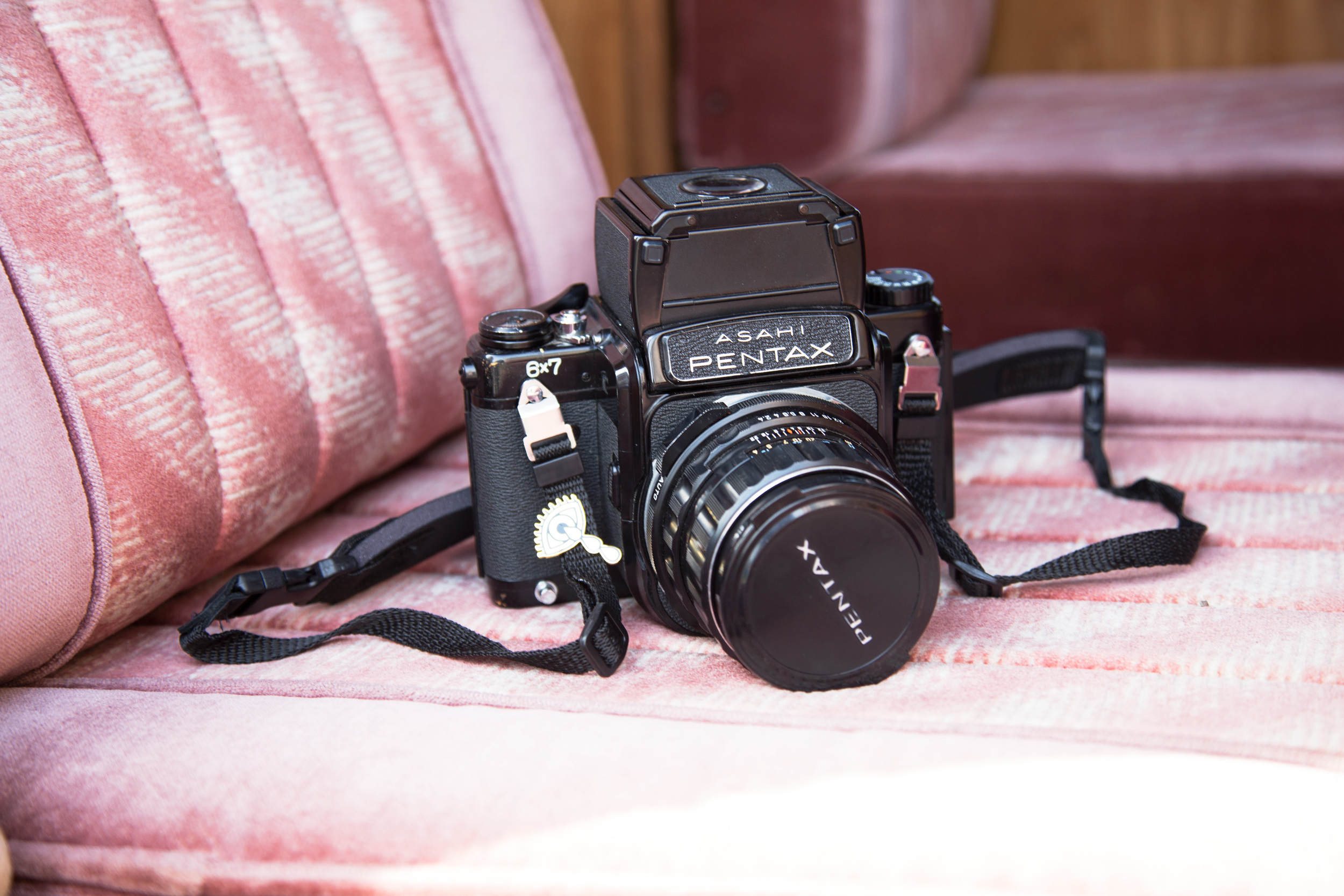I will be photographing the trip entirely with my Canon 5d Mark III and Pentax 6x7. Anyone who has shot with a Pentax 6x7 will agree that there is nothing quite like hearing that shutter release. It's a beast!