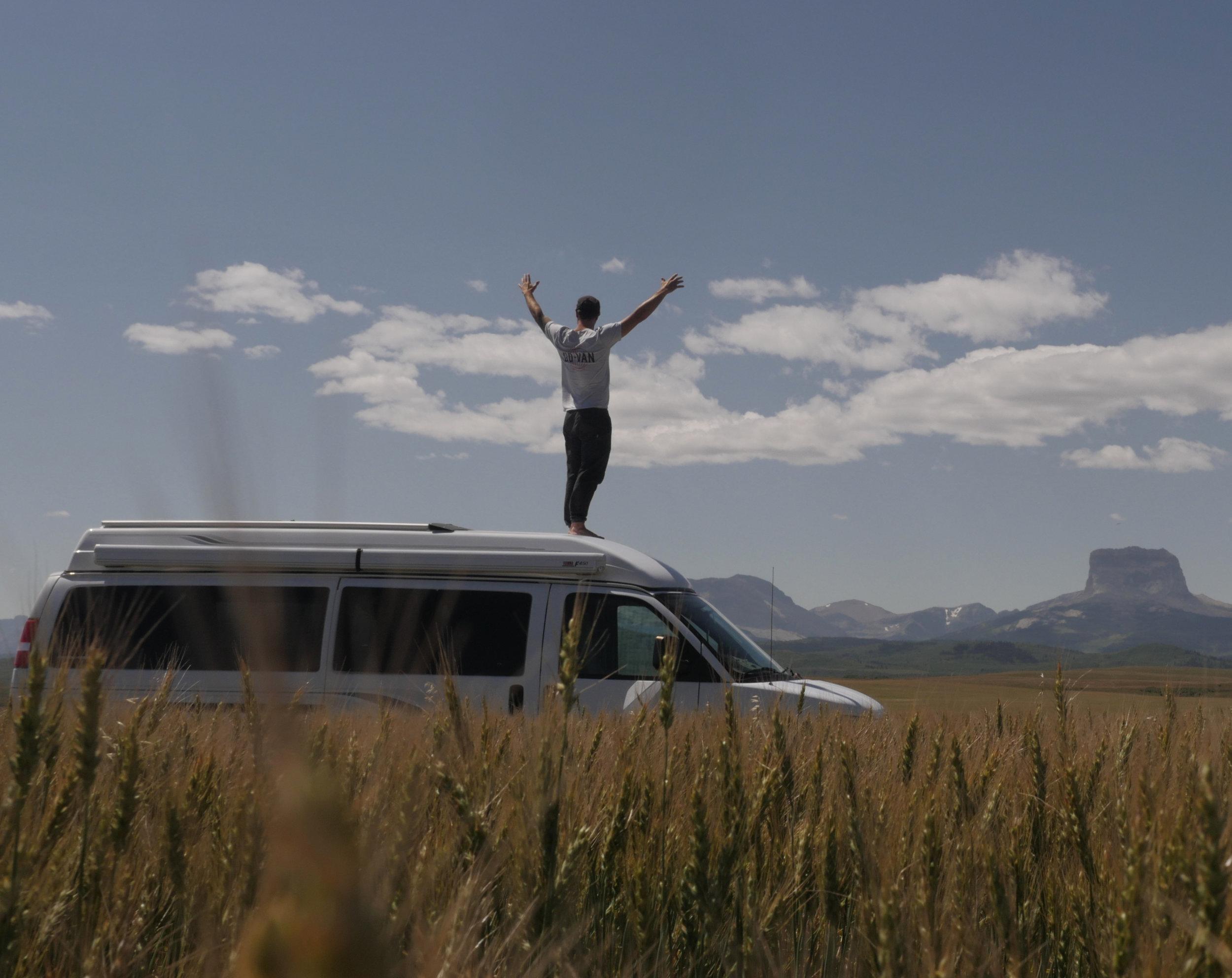 Leaving Alberta, Photo: Renaud Furlotte