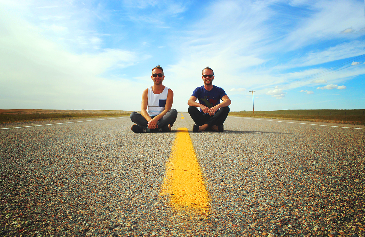 On the Saskatchewan roads