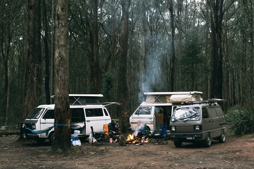Melbourne Vanlifers Photo by Brook James